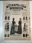 VTG 1881 ANTIQUE SEWING PATTERNS ADVERTISING FASHIONS BUTTERICK LUCKEY PLATT NY