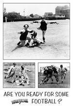 """3 Stooges Lets Play some Football poster 24 x 36"""" Larry Curly and Moe"""
