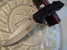 Couteau Smith&Wesson Military & Police Acier 7Cr17MoV Manche Alu Brise SWMP10