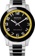 BERING Time Men's Analogueue Quartz Watch 33041-727 Radio Ceramic