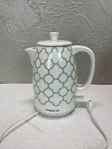 Ambiano Electric Ceramic Kettle Model KK-2038 Gray White