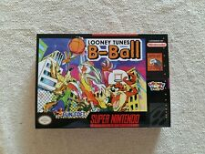 SNES Looney Tunes B-Ball, Custom Art case only, no game included
