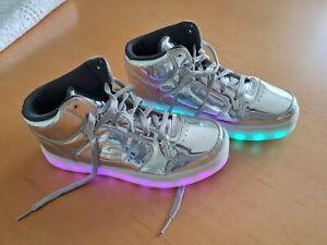 Skechers Sneaker Energy Lights Silber Größe 38
