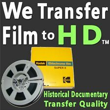 8mm S8 & 16mm Movie Film Reels to 1080p HD High Definition Scanning SERVICE MP4