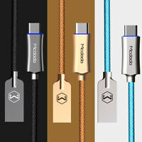 USB Type C Mcdodo Smart LED Auto Disconnect Quick Charge Data Cable Galaxy S8+