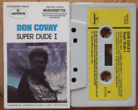 DON COVAY - SUPER DUDE I (MERCURY MCR4-1-653 0695) 1973 USA CASSETTE TAPE VG+