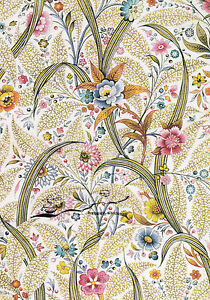Kunstkarte: William Kilburn - Marble end paper (2)