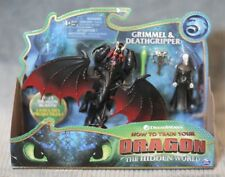 GRIMMEL & DEATHGRIPPER How To Train Your Dragon 3 The Hidden World Dragon Riders