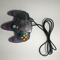 Atomic Purple N64 Nintendo 64 Controller MUST SEE