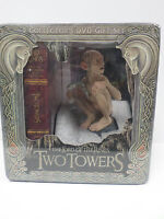DVD Lord of the Rings Two Towers 5-Disc (Extended SE) w/ Gollum Statue NEW LOTR