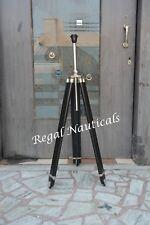 Wood Floor Black Tripod Chrome Floor Lamp Stand Big Tripod Lamp Stand Decor Lamp