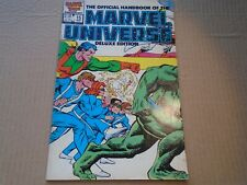 OFFICIAL HANDBOOK OF THE MARVEL UNIVERSE DELUXE #15 1987 VF/NM