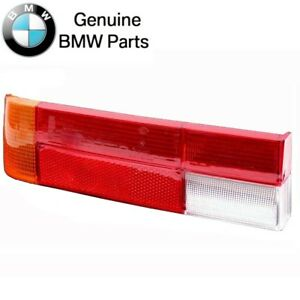 For BMW E24 6-Series Driver Left Taillight Lens Genuine OES 63211361883