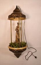 """Vintage Creators Inc Nude Greek Goddess Rain Lamp 30"""""""