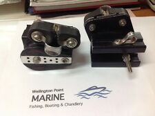 Ronstan RF1420 Control Ends 32mm Sheave, 25mm T Chanel + Cleat - One Only