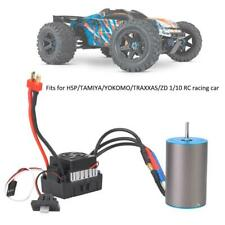 3656 3200KV Motor With 60A Waterproof ESC Combo Set for 1/10 RC Racing Car