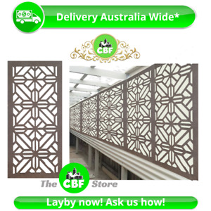 5 PACK- Washington - Australian Made Privacy Wooden Outdoor Screens - 600x1200mm
