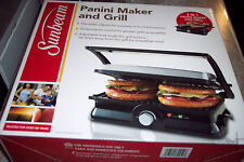 PANINI MAKER & GRILL NEW FREE S/H