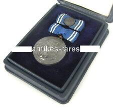 DDR Clara Zetkin Medaille in 900 Ag Silber mit Spange und Etui
