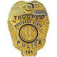 KENTUCKY STATE TROOPER POLICE OFFICER LAPEL BADGE PIN