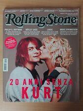 20 Anni Senza KURT COBAIN / Rolling Stone Magazine Italia n° 125 Marzo 2014