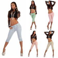 Jeans da donna alte rosa