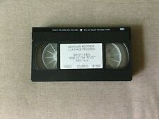 "Boyz II Men ""End of the Road"" (1992) Rare Original Motown VHS Promo Muisc Video"