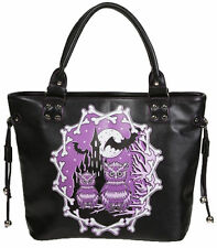 Secret Obsession Owl Lovers Handbag by Banned Apparel Gothic Day of the Dead