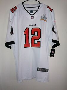 Tampa Bay Buccaneers Tom Brady Super Bowl LV 55 Jersey Size XL