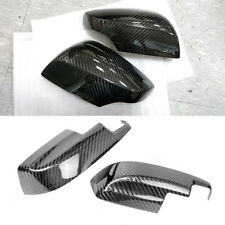 Carbon Combo For Subaru WRX STI 4th Exterior Sedan Side Mirror Trim Cover Set