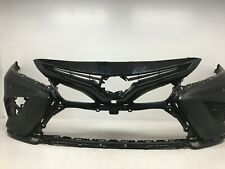 Front Bumper Cover Toyota Camry SE XSE w/Sensor Holes 218 2018 2019 OEM