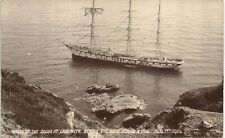 More details for cadgwith near coverack. socoa shipwreck 1906. struck the rocks during a fog.