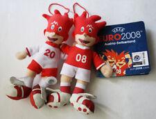 UEFA EURO 2008 AUSRIA SWITZERLAND TRIX FLIX PLUSH MASCOT OFFICIAL PRODUCT NEW !