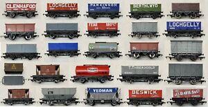 OO Gauge Hornby Rolling Stock Wagons Tankers Vent Vans