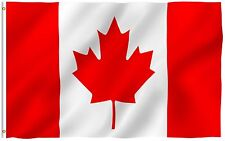 ANLEY Canadian Flag Canada National Banner Polyester 3x5 Foot Country Flags