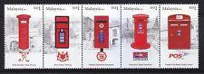 Malaysia 2011 Post Box (Strip of 5) ~ Mint