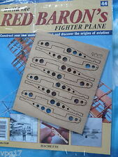 BUILD THE RED BARON'S FIGHTER PLANE FOKKER DR1  HACHETTE  ISSUE 44  NEW SEALED