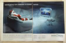 B526-Advertising Pubblicità-2004 -  DIVANI & DIVANI BY NATUZZI IN REGALO SONY