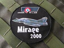 SNAKE PATCH - ROND MIRAGE 2000 - Armée de L'air - BA133 vol PILOTE pétaf CREW