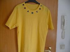 Sweat Shirt / Pullover - Gr. 44 / 46 - gelb - kurzärmlig