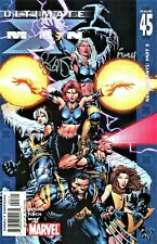 Ultimate X-Men #45 Signed Writer Brian Michael Bendis & Artist David Finch (Lg)