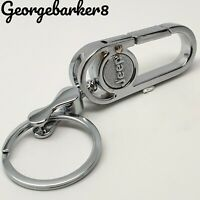 Jeep keyring key ring fob cover case holder keychain blank with box