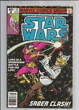 STAR WARS  #33  VG VERY GOOD   OW/WHITE PAGES MARVEL BRONZE AGE COMICS 1980