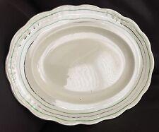 "Vintage (1937) Art Deco Alfred Meakin English Ironstone 12""/30cm Oval Platter"