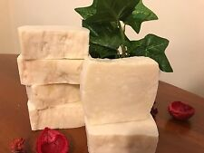 100% Pure UNSCENTED Olive Oil Handmade Soap for Sensitive Skin Counts >5 oz ea