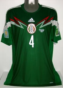 ADIDAS MEXICO ADIZERO PLAYER WC2014 AUTHENTIC MARQUEZ XL ORIGINAL JERSEY SHIRT
