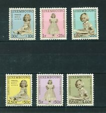 Luxembourg 1960 Princess Marie-Astrid full set of stamps. Mint. Sg 685-690.