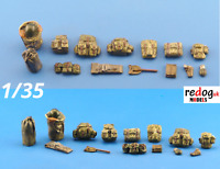 1/35 Back Sacks Military Accoutrements Scale Modelling Resin Stowage Kit 10