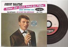 JOHNNY HALLYDAY CD EP REPLICA DELUXE EDITION nous les gars nous les filles