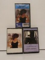 Pat Benatar Audio Cassette Tape Lot of 3 Crimes of Passion, Precious Time